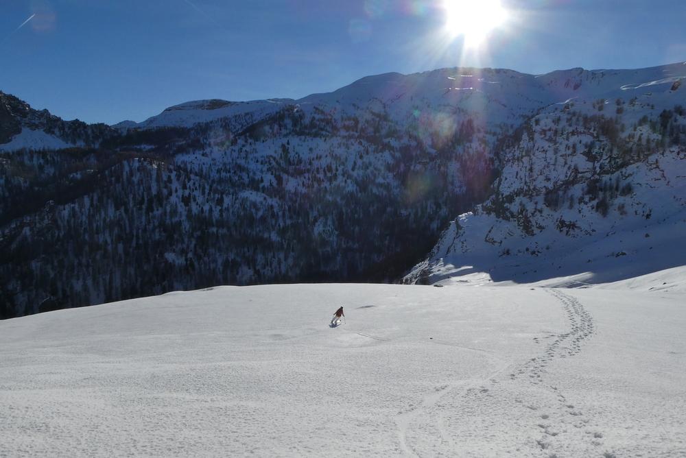 Col de Tramouillon - Ski de rando - Caro
