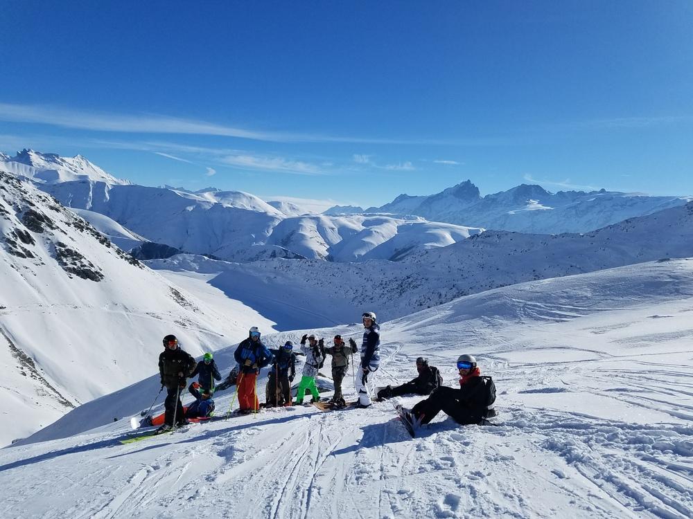 L'alpe d'Huez - Hors piste - L'équipe