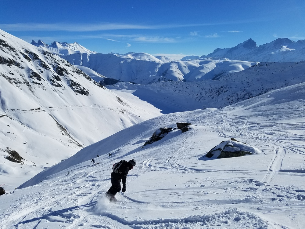 L'alpe d'Huez - Hors piste - Crémeux