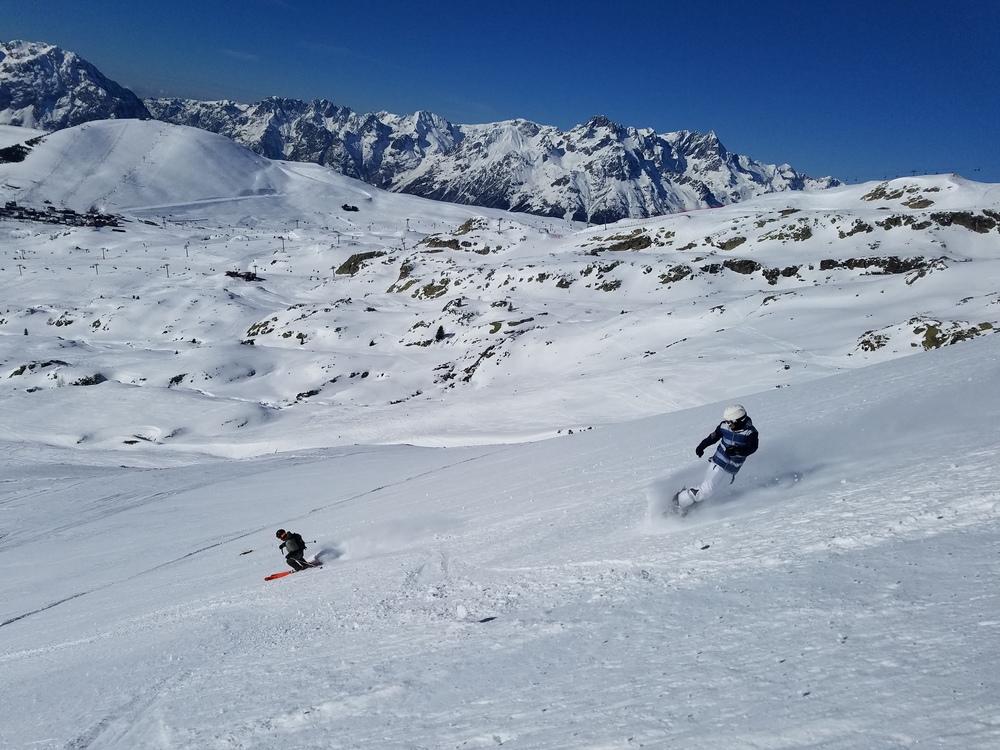 L'alpe d'Huez - Hors piste - En binôme