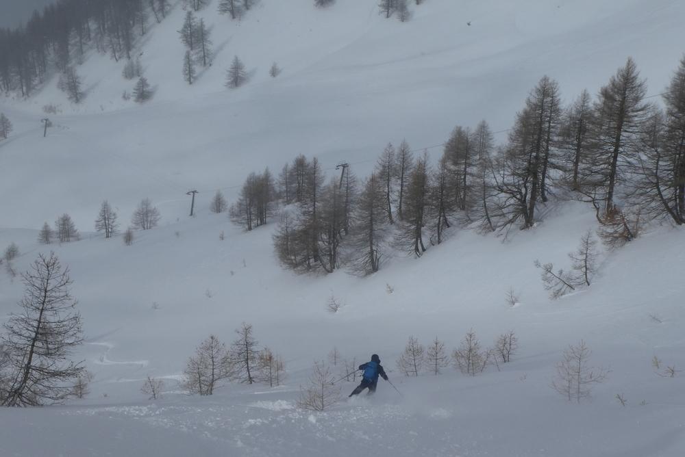 Freerando Bardonecchia - Karl sous la Mulatière
