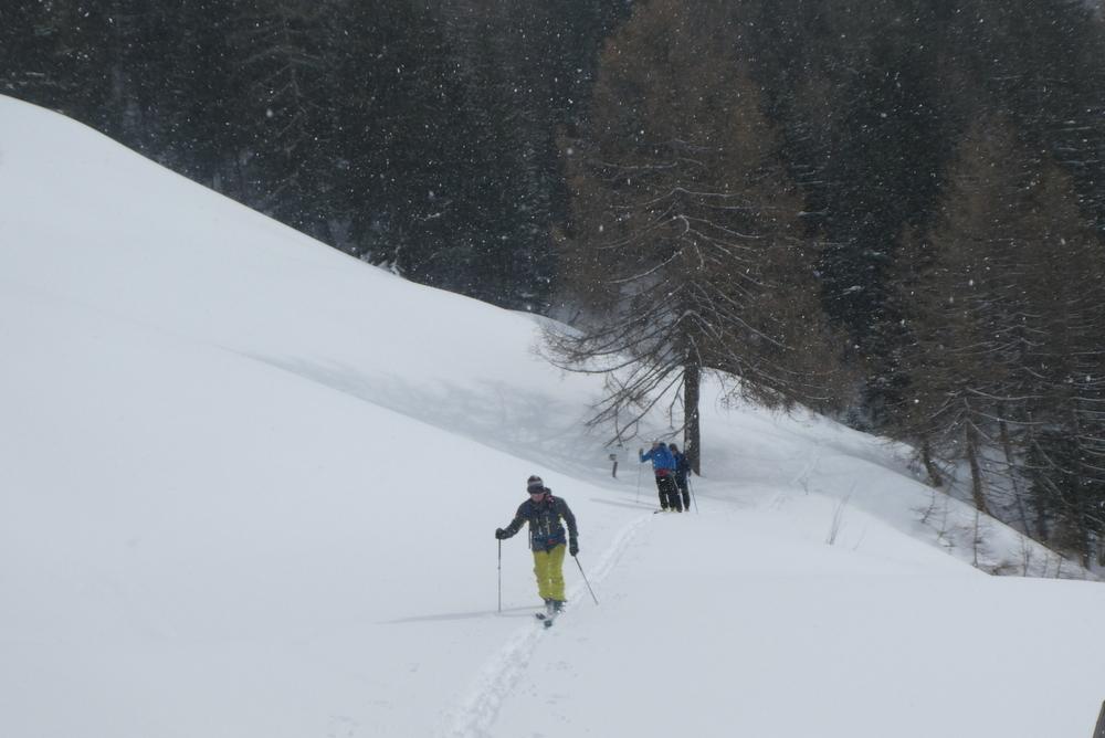Freerando Bardonecchia - Retour