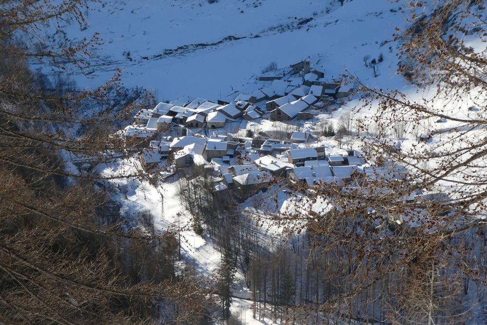 Freerando Bardonecchia - Arrivée sur  Rochemolles
