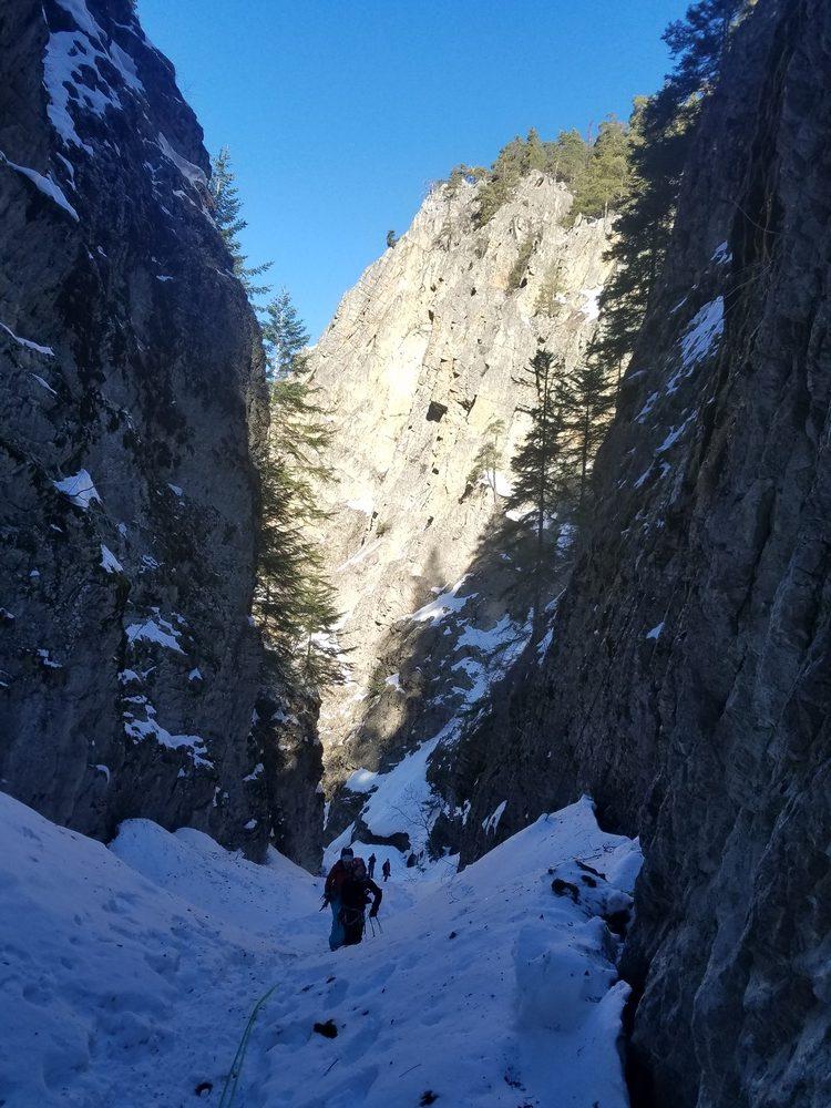 Torrent de Queyrières - L'ambiance dans le canyon