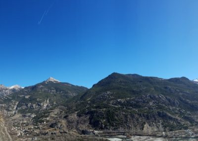 Escalade Grande voie - Champcella - La rampe de la Rama, la rampe