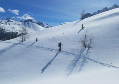 Ski rando Ceillac - Pas du Curé - Pas mal le secteur