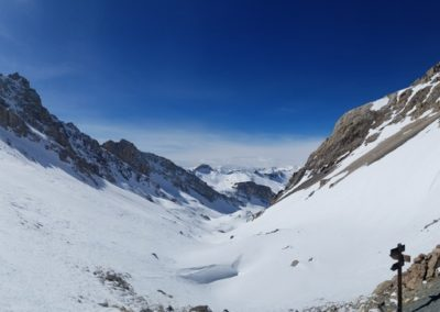Ski rando Ceillac - Pas du Curé - Vallon des Pelouses