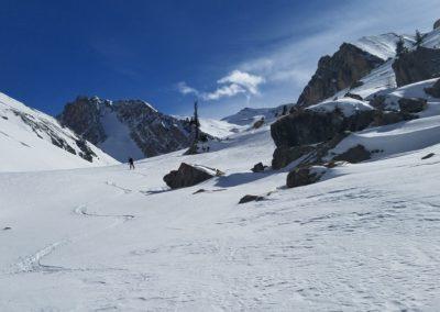 Ski rando Ceillac - Pas du Curé - Du ski tranquille dans le vallon