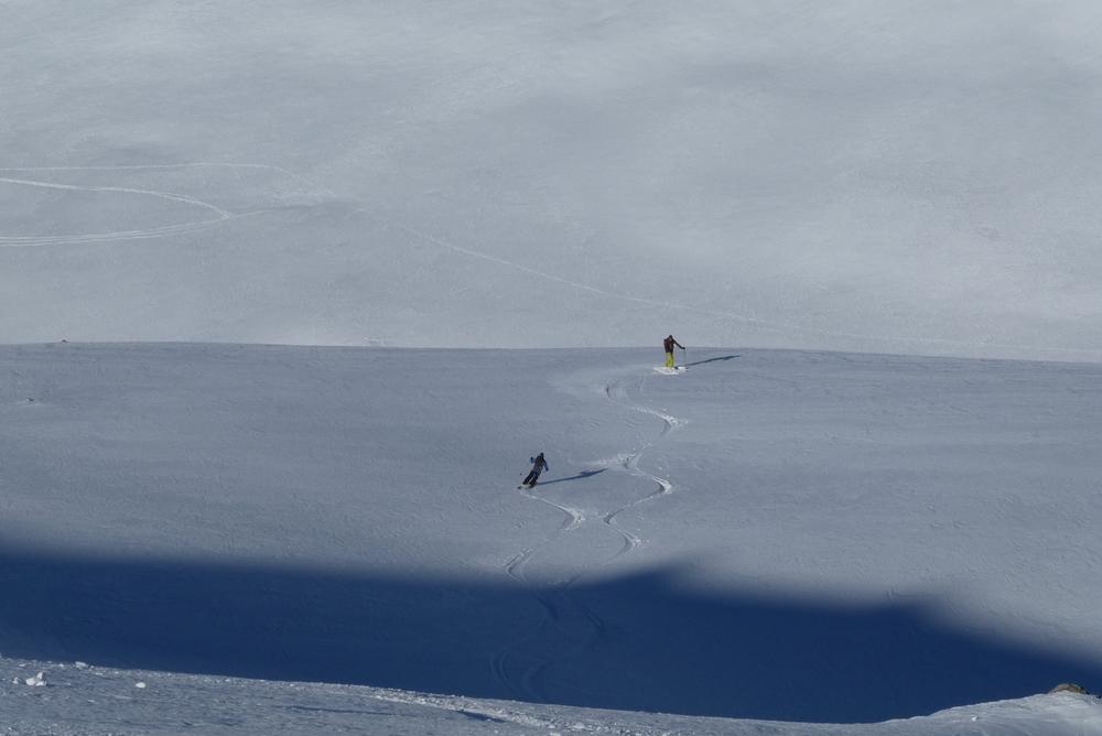 Raid à ski – Terre Rouge