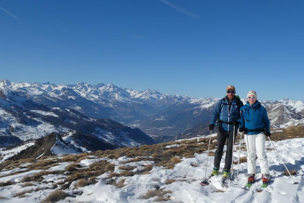 Initiation ski de randonnée - Paneyron - Notre vue du jour
