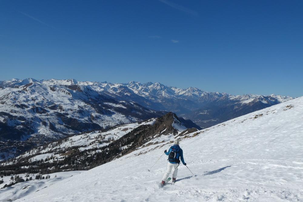 Initiation ski de randonnée - Paneyron - Christelle