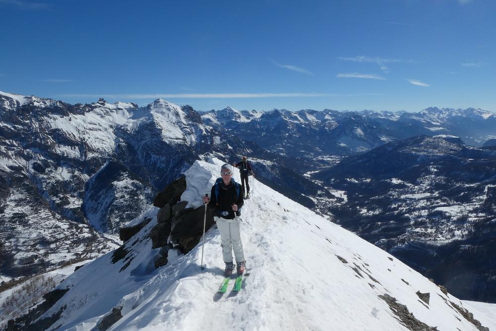 Découverte ski de rando - La Blanche - Les deux