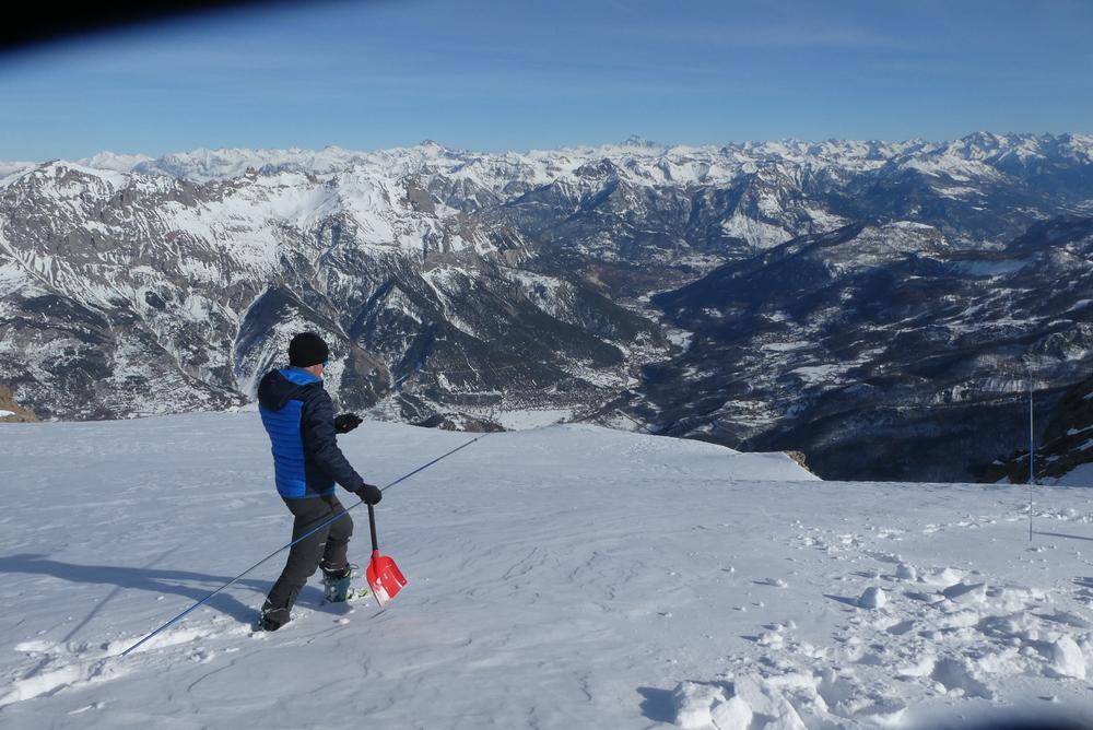Découverte ski de rando - La Blanche - Recherche DVA
