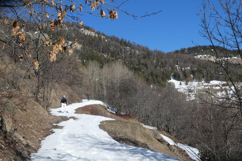 Découverte ski de randonnée - Tête des Aluzières - Retour par le Col d'Anon