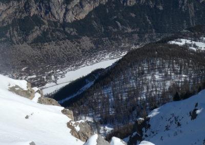 Aiguillas - Ski de rando - Sortie des Gourenqs