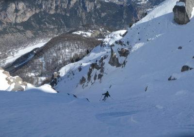 Aiguillas - Ski de rando - Comme prévu c'est bon