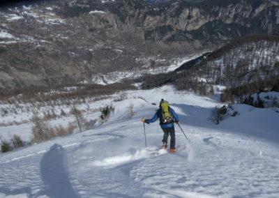 Aiguillas - Ski de rando - Il en reste