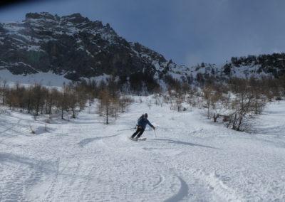 Aiguillas - Ski de rando - Très très bon