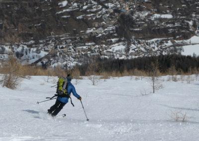 Aiguillas - Ski de rando - Freisinières