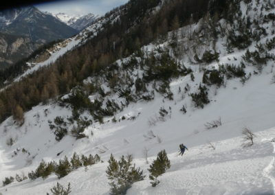 Aiguillas - Ski de rando - dans le coeur du Gourenq