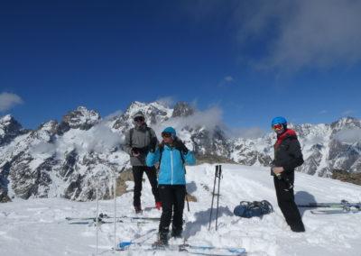 La Blanche - Pelvoux - Initiation - Au sommet