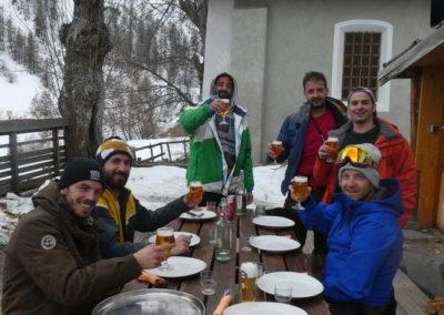 Week-end ski Dormillouse - Un finish comme il se doit!