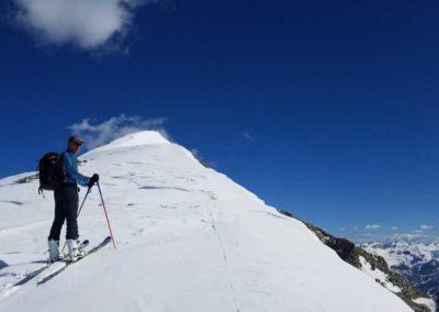 Freerando Les Orres - Tête de l'Aupet - Arrivée au sommet