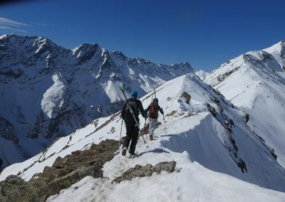 Col du Bal - Puy Saint Vincent - L'accès