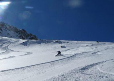 Col du Bal - Puy Saint Vincent - Nirmal au pilotage