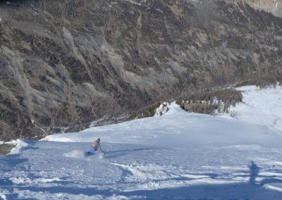 Torrent de l'Alpet - Départ de la crête de la Seyte