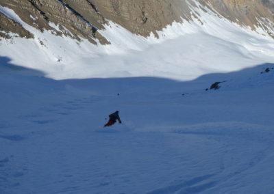 Raid ski randonnée Cerces - Popow du Crouzet