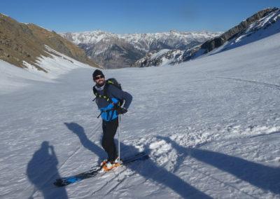 """Raid ski randonnée Cerces - Romain dit le """"cutter""""!"""
