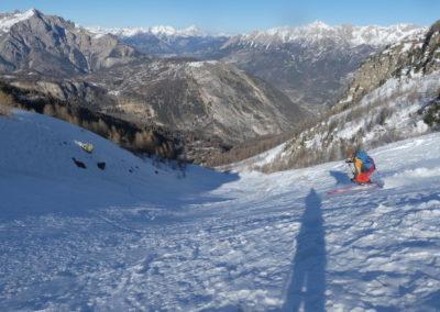 Raid ski randonnée Cerces - Crouzet power