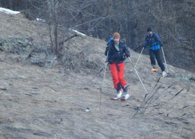 Raid ski randonnée Cerces - Pelouse