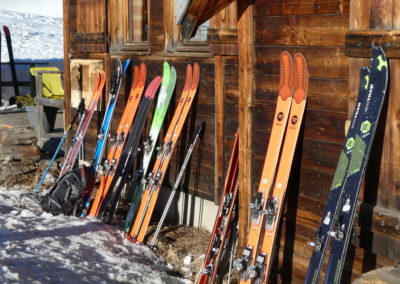 Raid ski randonnée Cerces - Skis