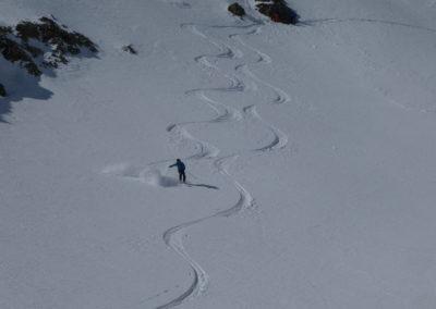 Raid ski randonnée Cerces - Sous la Cassille