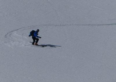 Raid ski randonnée Cerces - Ca commence à s'arrondir!