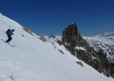 Raid ski randonnée Cerces - Tour du Queyrellin