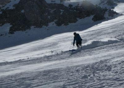 Raid ski randonnée Cerces - Popow dans le vent
