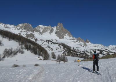 Raid ski randonnée Cerces - Tout là haut, les Cerces
