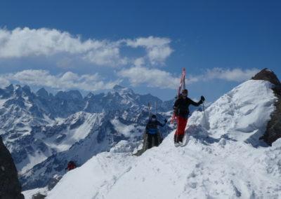 Raid ski randonnée Cerces - Ski alpinisme