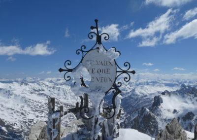 Raid ski randonnée Cerces - Je vaut ce que je veux!