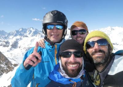 Raid ski randonnée Cerces - L'équipe