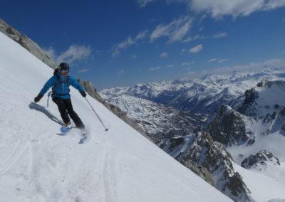 Raid ski randonnée Cerces - Raide, raide, raide!!