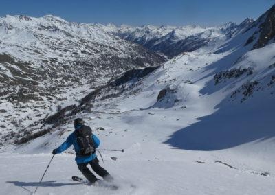 Raid ski randonnée Cerces - Lolo, testeur de moquette