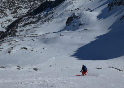 Raid ski randonnée Cerces - Antoine à la moquette
