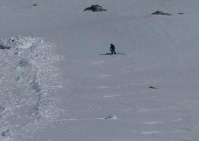 Raid ski randonnée Cerces - Divine moquette