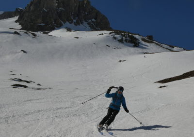 Raid ski randonnée Cerces - Moquette power