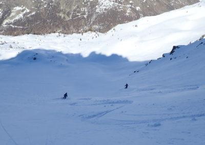 Raid ski randonnée Cerces - Doublette poudreuse