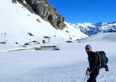 Raid ski randonnée Cerces - Les canards du Chardonnet